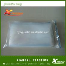 LDPE zipper plastic lock bags with heat seal
