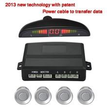 wired Parking Sensor System Car Reverse Backup Radar