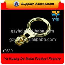 high quality metal ring zipper pull