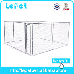 2015 hot selling chain link rolling warmly wooden dog kennel