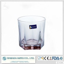 With sgs inspection certificate glass cups manufacturer offer new product glass for drinking water