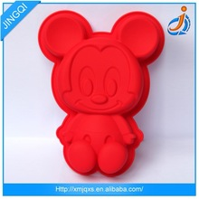 Food grade new model style panda cake mold