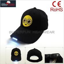 2015 stylish custom cap with led wholesale
