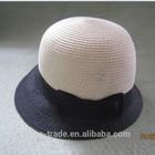 bowknot paper Straw Hat