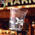 Pp u200y-t 7oz 200ml copo de plástico- talheres descartáveis
