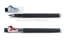 Sports shoes Design Cartoon Character 2015 clip Pen/Gel ink pen YB-200