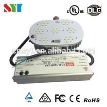 120w e40 led retrofit kits ul listed /outdoor led street lights show box lights