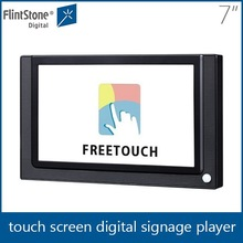 Flintstone 7 inch super wide screen lcd cheap portable dvd player touch screen tablet pc