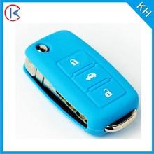 custom colorful silicone car key cover for mazda