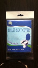 Disposable,Eco-Friendly, 1/2 fold toilet seat cover paper