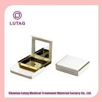 Luxury Plastic waterproof makeup compact powder case
