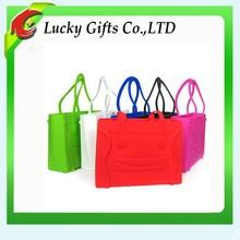 2014 Latest Design Silicone Bags Women Handbag