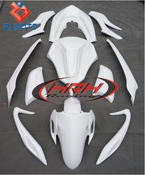 PCX 125 ZJMOTO China Motorcycle Bodywork Fairing Motorcycle Full fairings For PCX 125 motorbike FRP White Body Parts Kits Cover