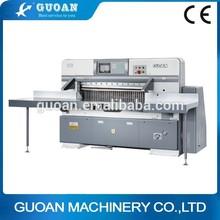 QZYW-920E/1150E/1300E/1370E High Speed 10.4 Inch Computerized Hydraulic Programming Manual Paper Guillotine