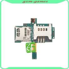 Original mobile phone SIM Card and SD Card Flex Cable Ribbon for samsung galaxy s i9000