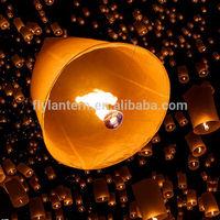 wholesale ECO chinese cylinder sky lantern wish lantern for wedding decoration MOQ is 100pcs
