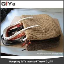 Paper Straw Beach Bag Crochet Straw Handbag Shoulder Beach Bag