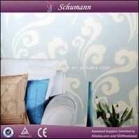 Latest luxury design and economical price Suede 3d decorative wallpaper