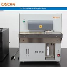 Infrared sulfur elemental analyzer