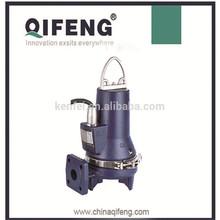 Electric motor heavy duty grinder submersible sewage pump