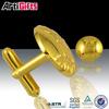 High quality blank gold cuff link