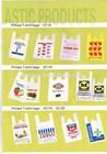 shopping pe bags plastic bags t-shirt bags