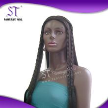 High quality fashion style braid headband fall wig