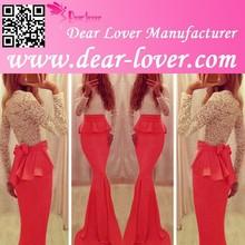 Elegant Long Sleeve Mermaid Evening Dress Online Shopping