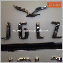 Decorative Polished/Brushed Stainless Steel Letter logo