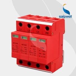 SAIPWELL SP-C20/3 3P+PE 275V/320V/385V/440V Red Color Surge Arrestor