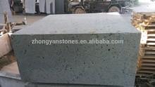 large natural grey lava stone block