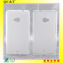 TPU case cover for Lumia 535 in Guangzhou Factory
