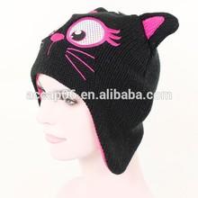 baby beanie winter,animal winter knitted cap,animal ears winter cap