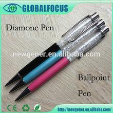 2015 Alibaba Factory Wholesale diamond pens promotional pens