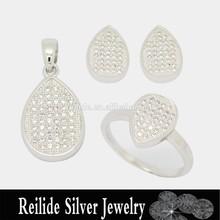2015 Top Sale Trendy Design Wedding Jewelry Set