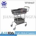 Yfy046t hermosa apariencia barato más caliente de acero inoxidable de la venta del bebé cuna