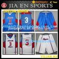 equipo de alta calidad a medida sublimada uniforme de baloncesto sublimado personalizar los uniformes del baloncesto para las mujeres