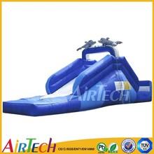 New style backyard slide,inflatable mini slide used for sale