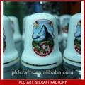 La decoración del hogar de cerámica dedales/dedales de colección/dedales de coser