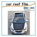 dero 2 vehículo capas película de techo solar