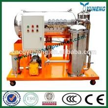 JT-50 CHINA YUNENG Vacuum Coalescing Dehydration and Separation Oil Purifier