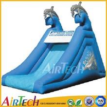 Dolphin slide Style kids slide, slip n slide,tobogan slide for indoor