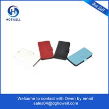 free sample leather cut phone case