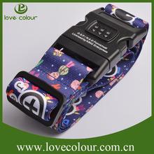 Cheap and Adjustable Promotional Tsa Luggage Belt/Strap