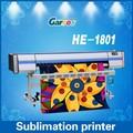 diretamente têxteis rolo a rolo da impressora para garros he1801