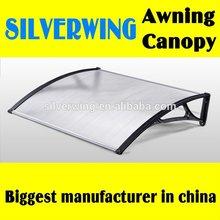 Popular Elegant DIY polycarbonate aluminium canopy tent for buildings