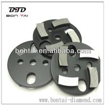 Metal Diamond grinding pads for general purpose concrete grinding machines