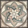 Stone wall cladding medallion tile,marble tile floor medallions
