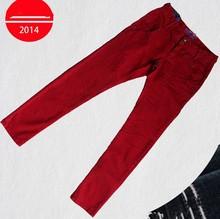 fashion slim pure color jeans pants price