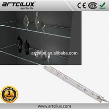 China wholesale good price 12 volt led light bar glass shelf for home decor